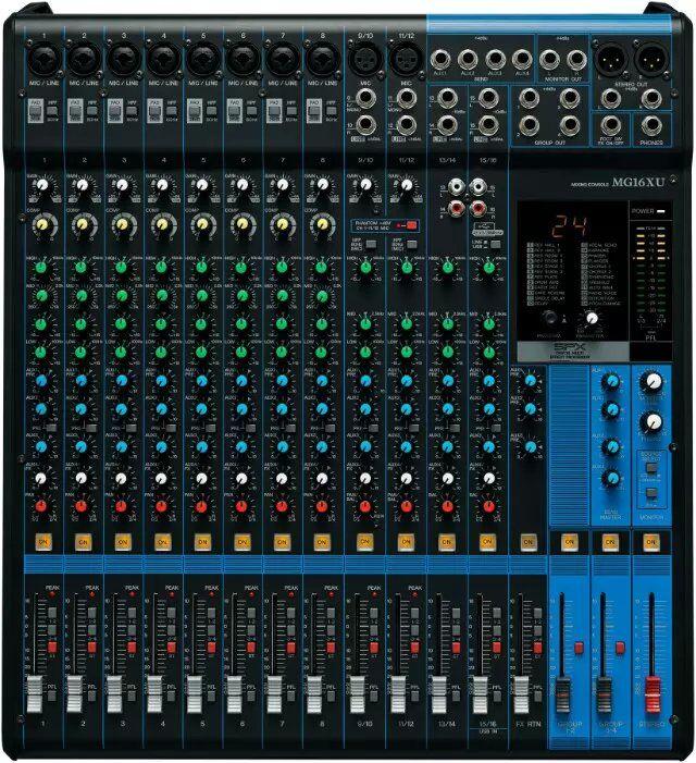 16路调音台带usb 产品说明